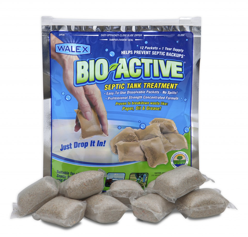 Bio Active Septic Tank Treatment Walex Products